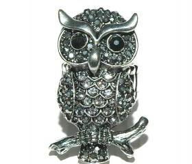 Owl Ring - Cocktail Ring
